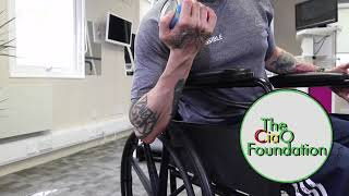 Unilateral Bicep Curls | Wheelchair Fitness Workout | Seated Exercise