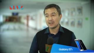 Акан Сатаев пообщался с молодежью
