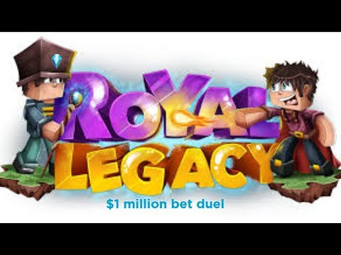 Minecraft Royal Legacy - $1million Bet Duel