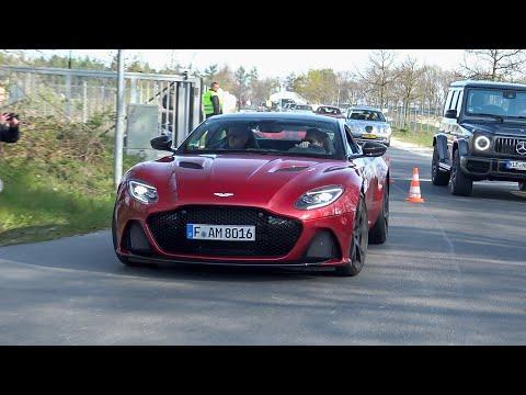 Aston Martin DBS Superleggera - Acceleration Sounds !