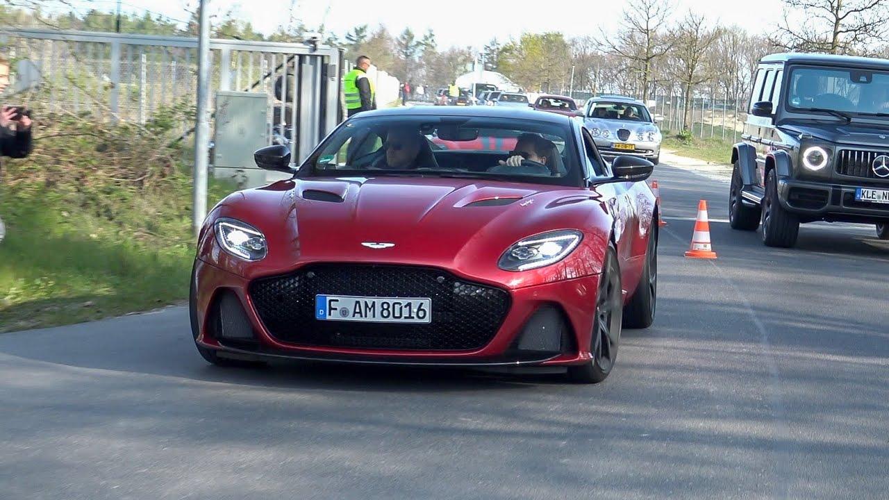 Aston Martin Dbs Superleggera Acceleration Sounds Youtube