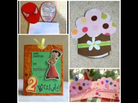 Diy Birthday Cards Decor Ideas Youtube