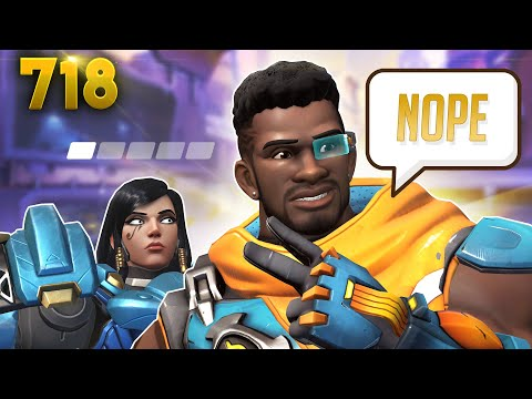 BAPTISTE Won't HEAL You!! | Overwatch Daily Moments Ep.718 (Funny and Random Moments) thumbnail