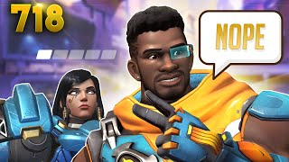 BAPTISTE Won't HEAL You!! | Overwatch Daily Moments Ep.718 (Funny and Random Moments)