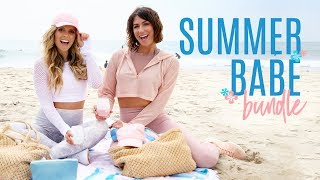 Tone It Up Summer Babe Bundle ~ Gorgeous Beach Tote & Essentials You Need