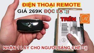 Mở hộp Điện thoại remote ĐỘC LẠ giá 269k trên LAZADA, SHOPEE. Bó tay toàn tập :)) | MUA HÀNG ONLINE
