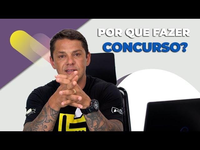 5 motivos para fazer concurso público! - Evandro Guedes - AlfaCon