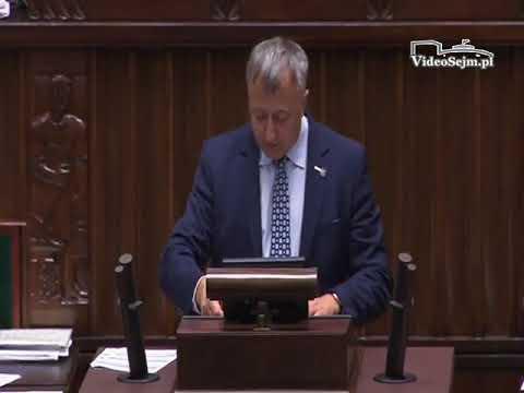 Józef Brynkus  – wystąpienie z 24 listopada 2017 r.