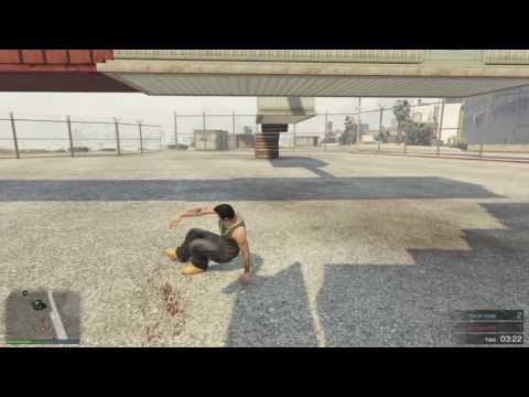 "Grand Theft Auto V ""SUPER NINJA PARKOUR"" Deathmatch"