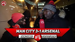 Man City 3-1 Arsenal | We Are Good Enough To Make Top 4! (Ty)