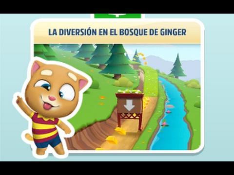Gato Tom a por el oro. Nuevo escenario y personaje, El gato Ginger en el bosque