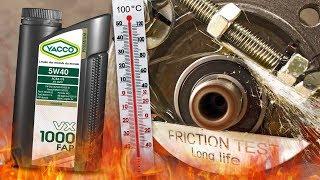 Yacco VX 1000 FAP 5W40 Jak skutecznie olej chroni silnik? 100°C