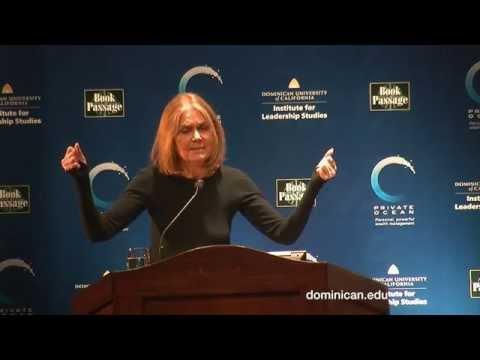 Gloria Steinem spoke at Dominican University of California
