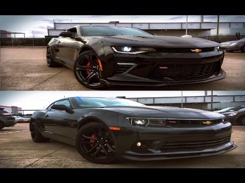 2015 Chevrolet Camaro SS 1LE VS 2017 Chevrolet Camaro SS 1LE - YouTube