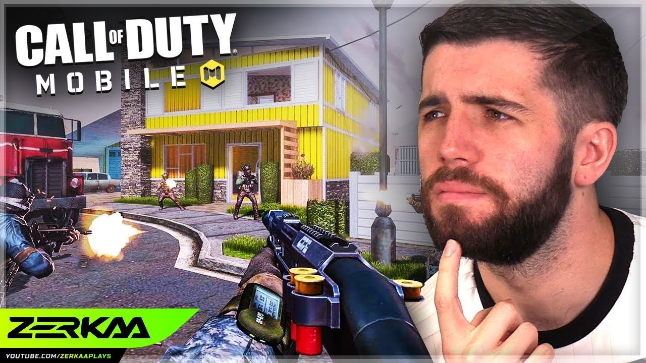 Playing The NEW Call of Duty On A Phone! (COD Mobile)