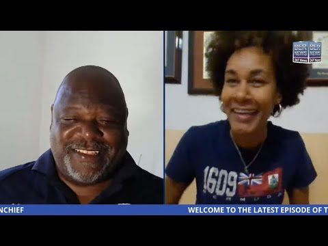 Live Video: Olympic diver Katura Horton Perinchief joins BNV Sports Host Earl Basden