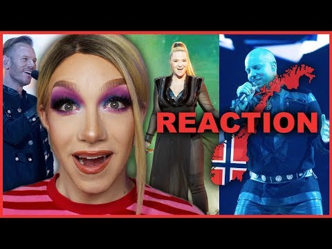 NORWAY - KEiiNO - Spirit in the Sky - LIVE   Eurovision 2019 Reaction