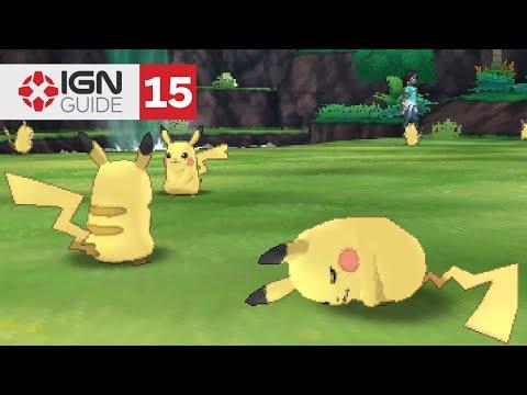 Pokemon: Ultra Sun and Ultra Moon Walkthrough - Pikachu Valley