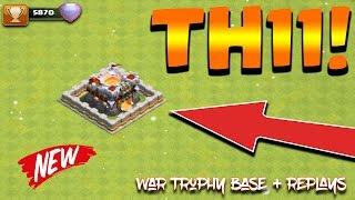 Clash Of Clans - TH11 WAR BASE/TROPHY BASE/FREEZE TRAP/ANTI 2 STAR/ REPLAYS