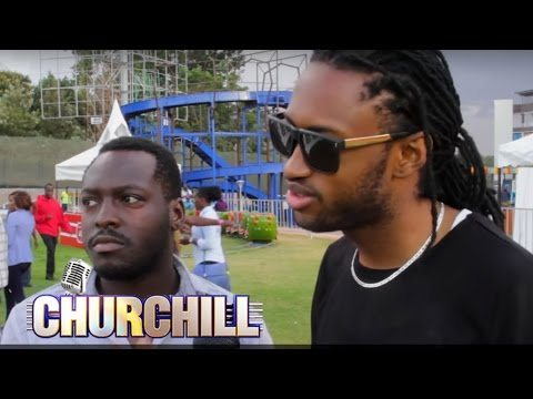 Churchill Show Behind the scenes 1
