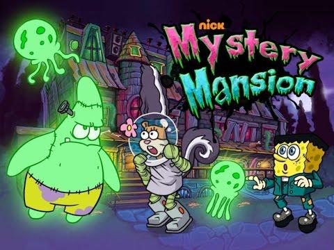 hq spongebob halloween mystery mansion episode 2014 - Spongebob Halloween Game