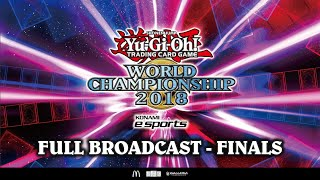 Yu-Gi-Oh! World Championship 2018 [Finals: Live Broadcast]