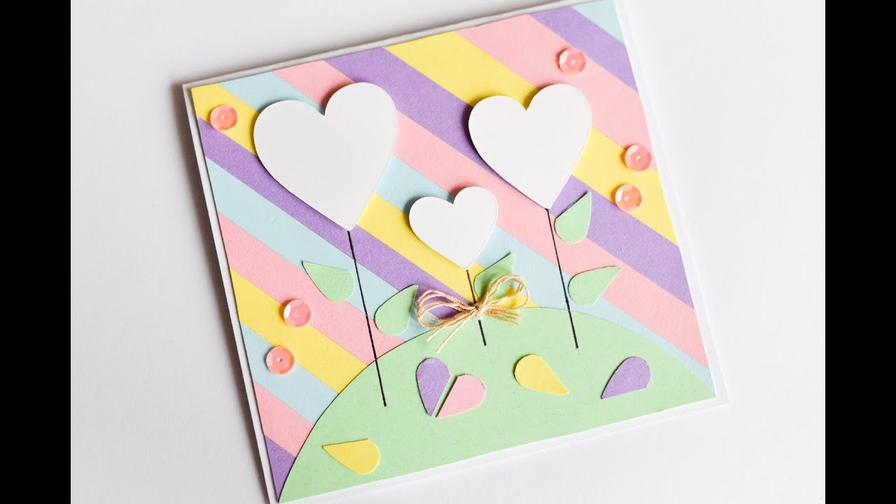 How To Make Valentine 39 S Day Greeting Card Easy Cute