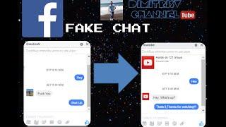 Messages chat facebook fake Fake Messenger