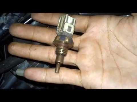 Cara cek thermo sensor dan kipas radiator jupiter mx/vixion