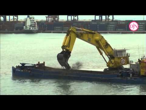 Jan De Nul Group - Working Principles Backhoe Dredgers