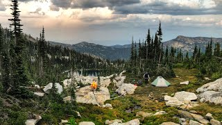 Overnight in the Magnificent Selkirks | Beehive Lakes Backpacking