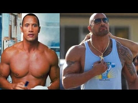Dwayne ' The Rock ' Johnson Bodybuilding Trainingt video