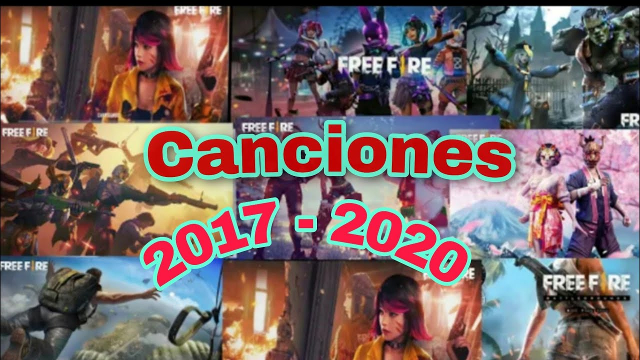 TODAS LAS CANCIONES DE FREE FIRE  (ANTES VS DESPUES) // MUSIC THEME FREE FIRE 2017-2020