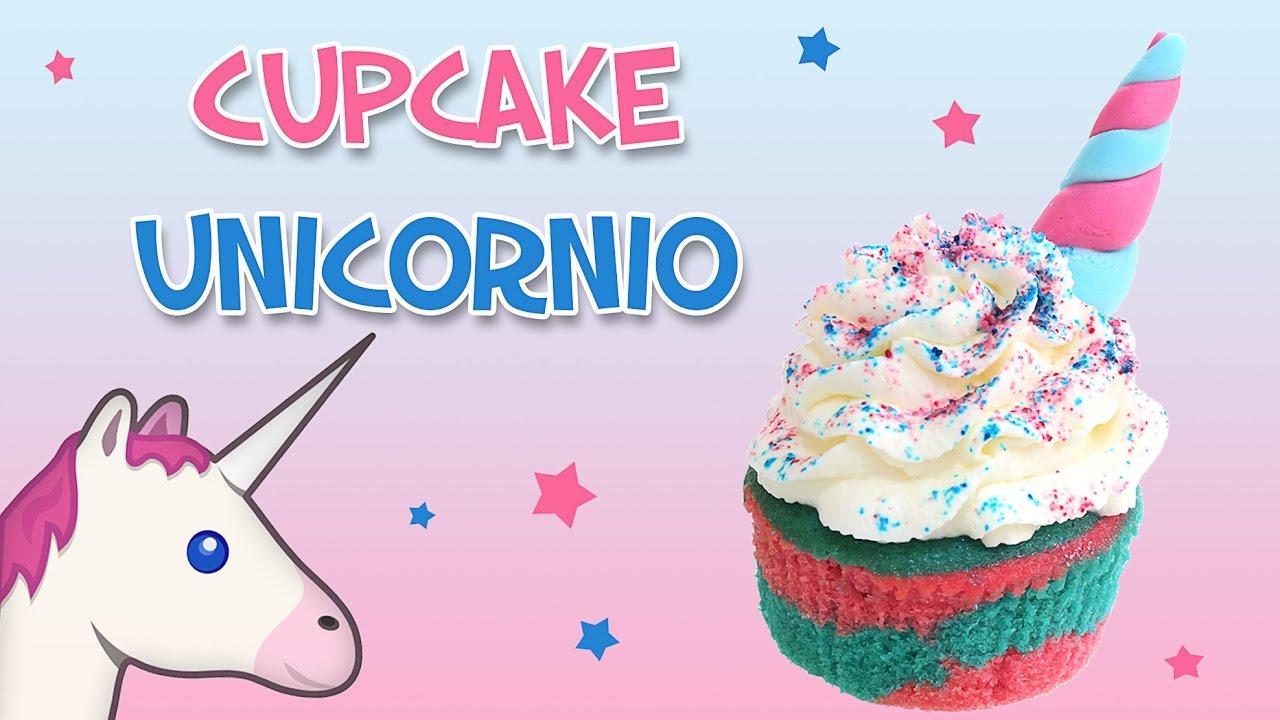 Cupcake unicornio cocina para todos youtube for Cosina para todos