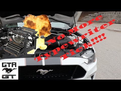 """2018-2019 Mustang engine tick. Blow up the"""" typewriter!!!"""""""