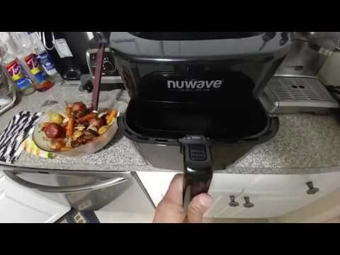 Nuwave Brio Air Fryer As Seen On Tv Doovi