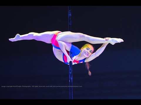 Worlds BEST Pole Dancer, World Pole Sport Champion 2015 WINNER - Galina Musina RUSSIA