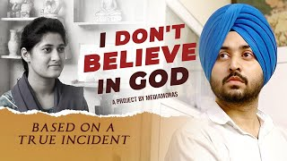 God is FAKE...?   Most Inspiring Punjabi Movie | Inderr Damie