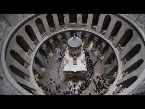 Tomb of Jesus in Jerusalem restored and unveiled