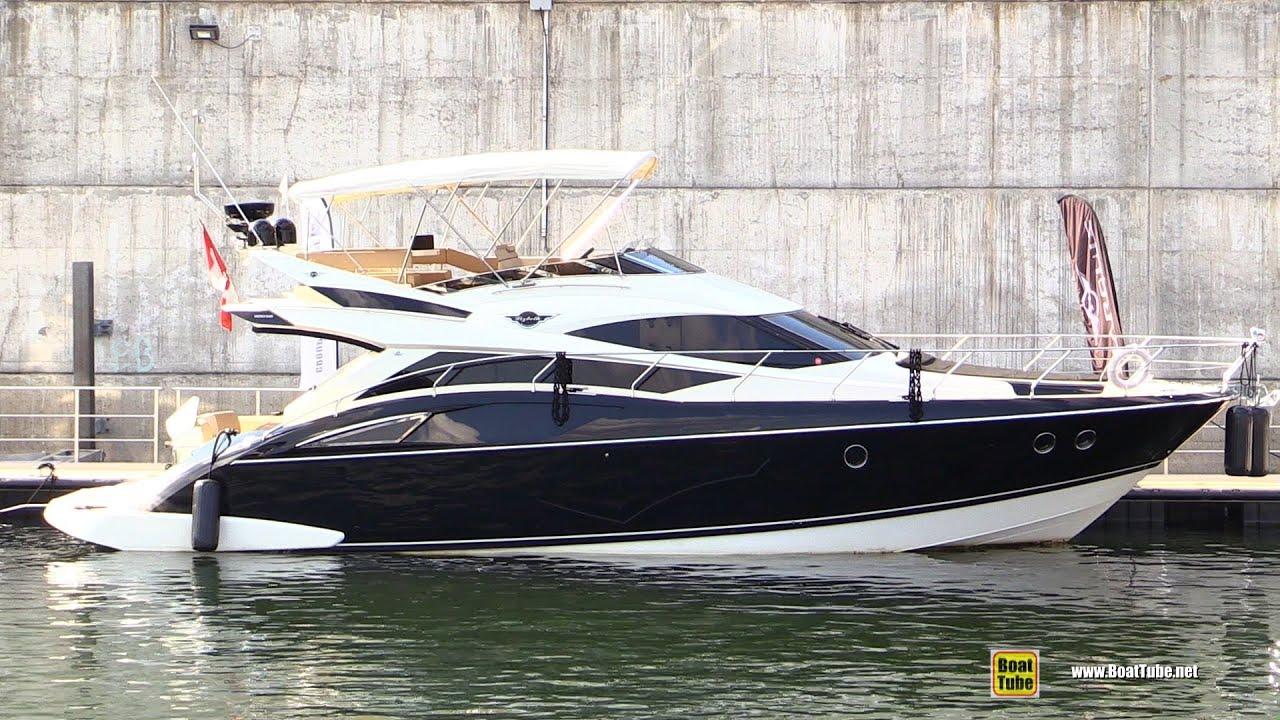 2012 Marquis 500 Sport Bridge Motor Yacht Walkaround
