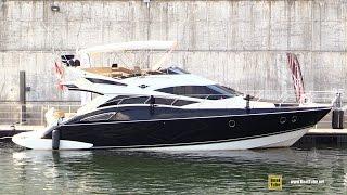 2012 Marquis 500 Sport Bridge Motor Yacht - Walkaround - 2015 Montreal In Water Boat Show