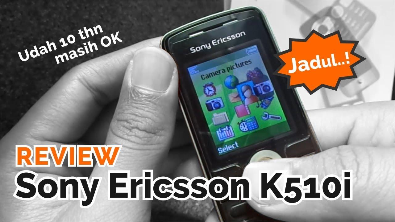 Review Handphone Jadul Sony Ericsson K510i Youtube