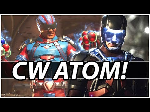 CW ATOM Gear! TWO RAGE QUITTERS IN A ROW? - Injustice 2 Online