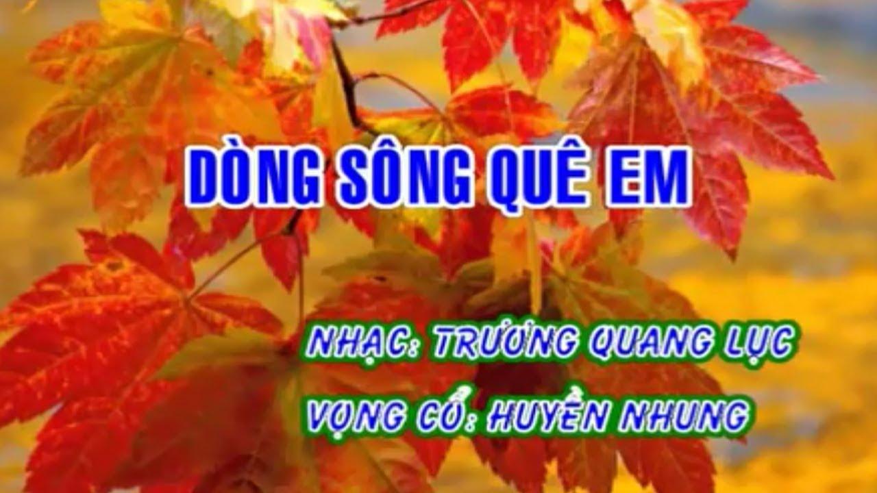 Karaoke Vọng Cổ Dòng Sông Quê Em