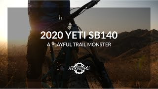 Checking Out the New Yeti SB140! A Playful Trail Monster