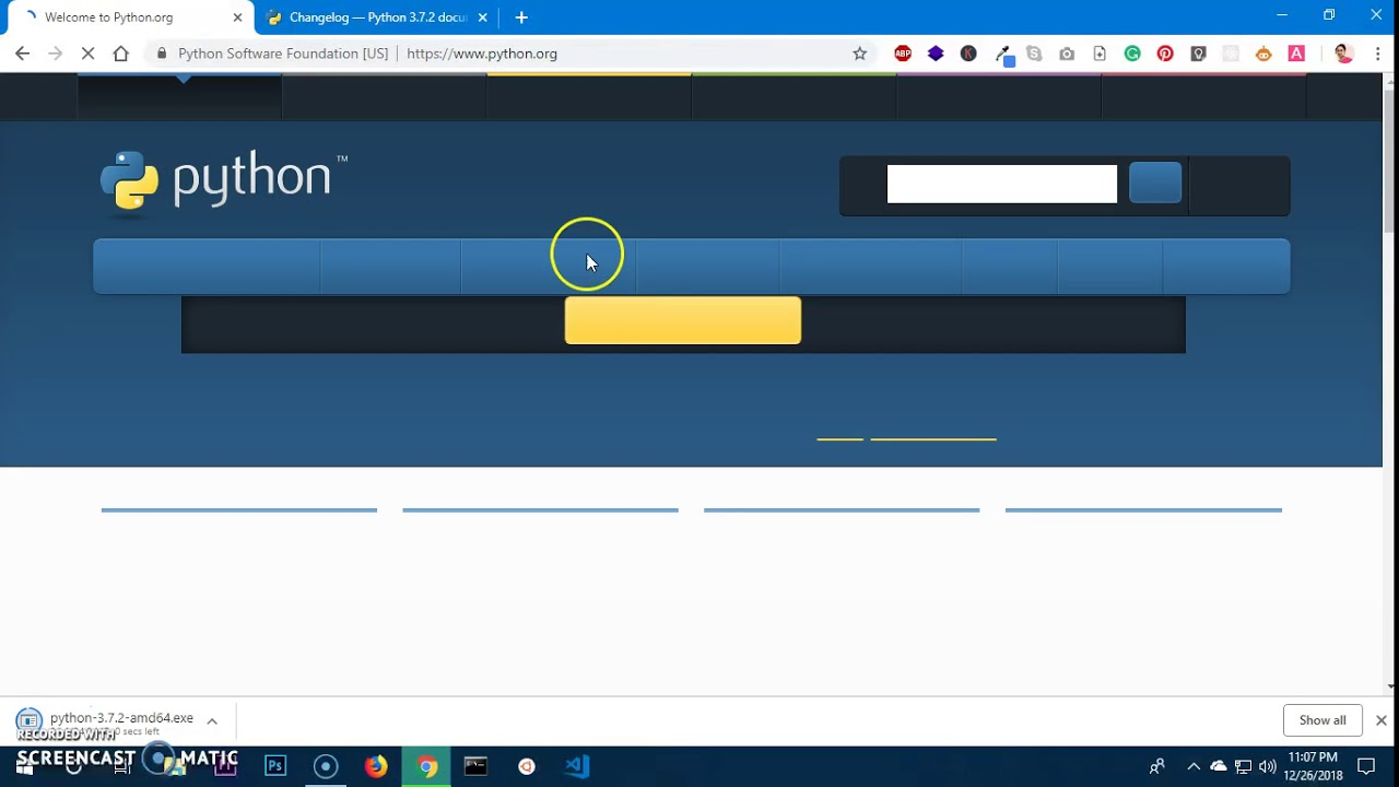 python download for windows 10 64 bit full version free