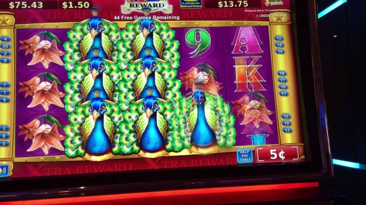 Peacock Slot Machine