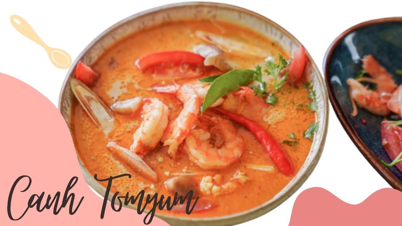 Gia vị nấu CANH TOMYUM đúng chuẩn Thailand