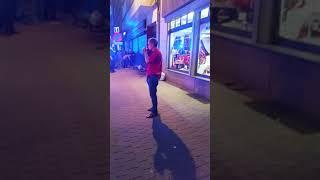 Brand in handelstraat