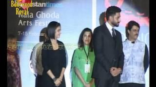 Abhishek Bachchan  Inaugurates the Kala Ghoda Arts Festival 2015